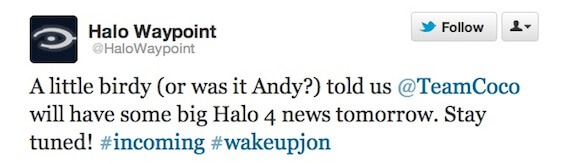 Conan Halo 4 Tease