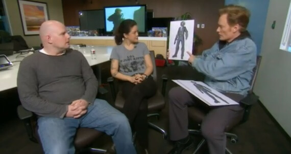 Conan O'Brien Visits 343 Industries; New 'Halo 4' Multiplayer Footage
