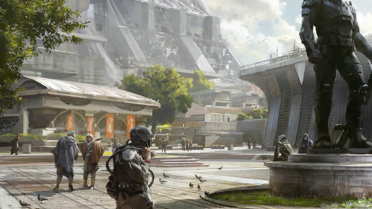 Bungie Releases Beautiful New 'Destiny' Concept Art and Screenshots