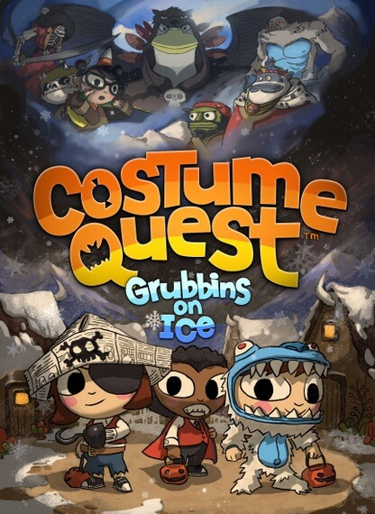 Costume Quest Grubbins On Ice