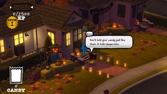 Costume Quest Review 0 Candy