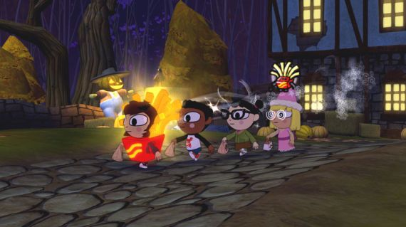 Costume Quest Review French Fries