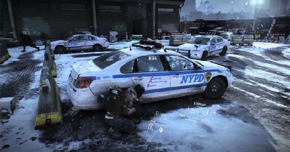 Cover-based combat in 'Tom Clancy's The Division'