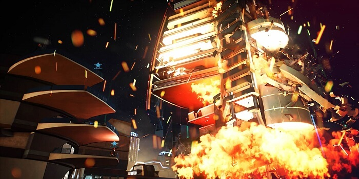 Crackdown 3's Impressive Destruction Available Only Within Multiplayer