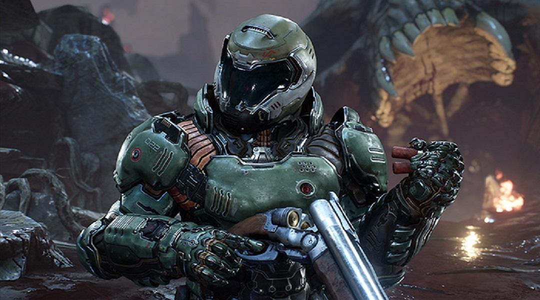 DOOM Gameplay Trailer Reveals Content In Free Update 5
