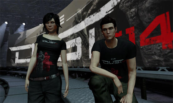 DUST 514 PlayStation Home Avatar Shirts