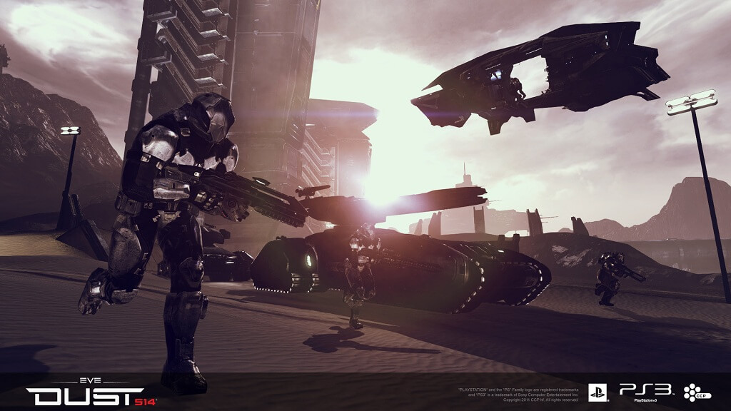 'Dust 514' Mercenary Pack Lets You Play The Game This Week