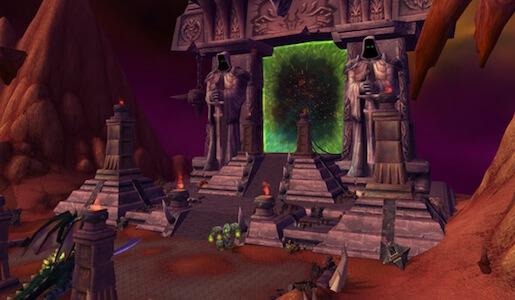 World of Warcraft: Dark portal outland side