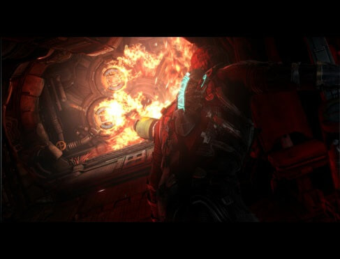 Dead Space 3 Explosion
