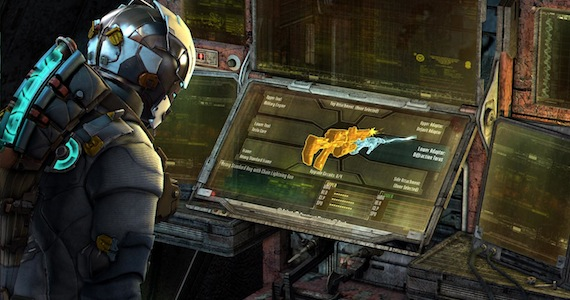 Dead Space 3 Review - Weapon Crafting