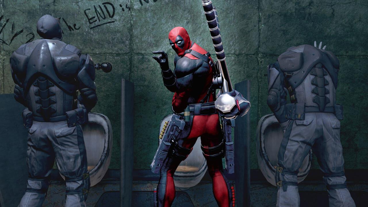 'Deadpool' Screenshots & Gameplay Break Enemies' Heads and the Fourth Wall