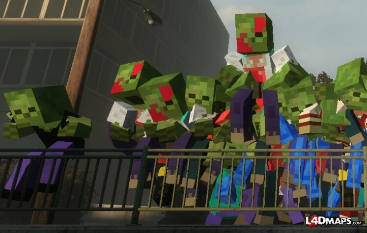 'Left 4 Dead 2' Meets Minecraft & Lord of the Rings