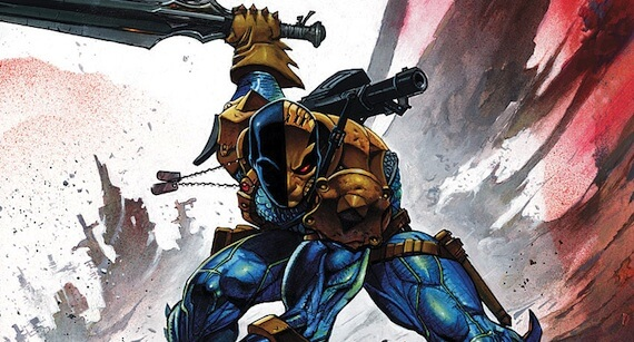 Deathstroke the Terminator Targets 'Injustice: Gods Among Us'