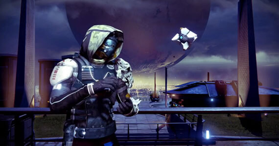 'Destiny's Ghost Takes On the Ice Bucket Challenge