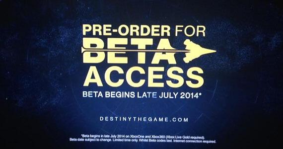 Destiny Beta Release Date Xbox