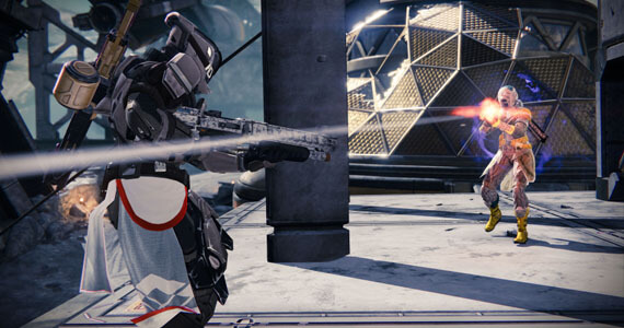 Destiny Crucible Competitive Multiplayer Gameplay
