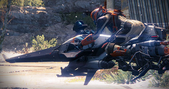 Destiny Crucible Competitive Multiplayer Vehicles