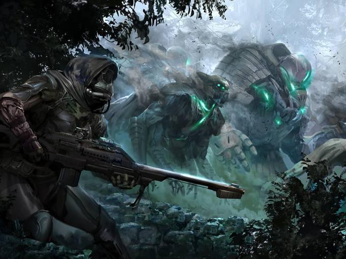 Bungie Unveils 'Destiny': Details, Footage & Concept Art Spotlight an 'MMO-like' FPS