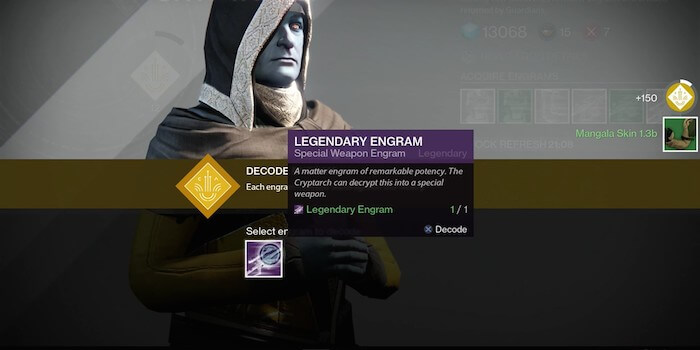 Fastest way to upgrade legendary weapons in destiny