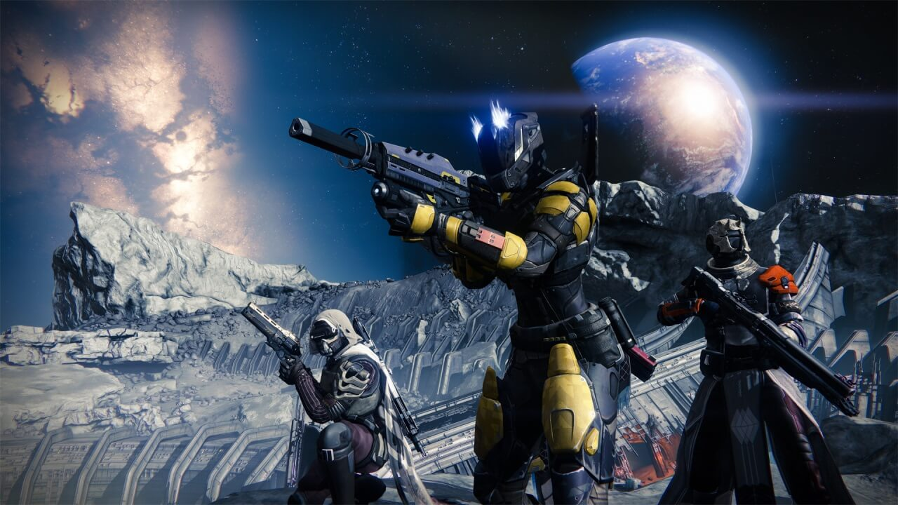 'Destiny' Screenshots and Concept Art Take Players Off-Planet