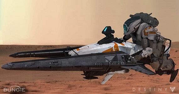 'Destiny' Shrike Vehicle Detailed in New Concept Art