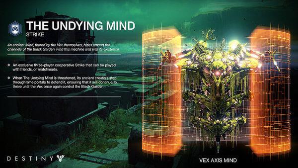 Destiny Undying Mind