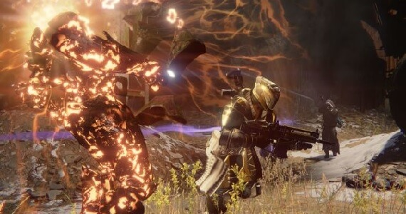 Destiny combat screenshot