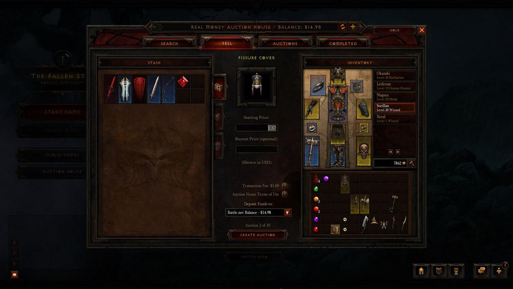 'Diablo 3' Auction House Fees Detailed