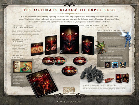 Diablo 3 Collector's Edition Contents