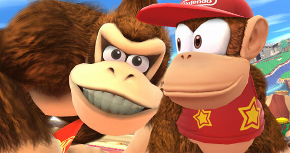 Diddy Kong Swings into New 'Super Smash Bros.'