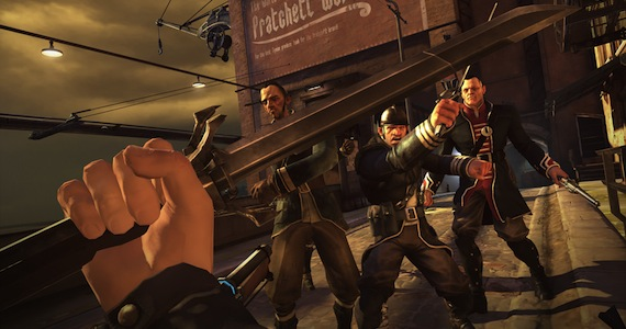 Dishonored Gameplay Preview - Melee Combat