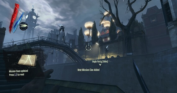 Dishonored Review - Mission Layout