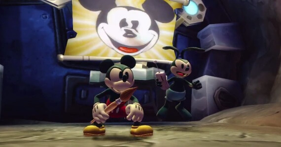 'Disney Epic Mickey 2: The Power of Two' Preview & Trailers