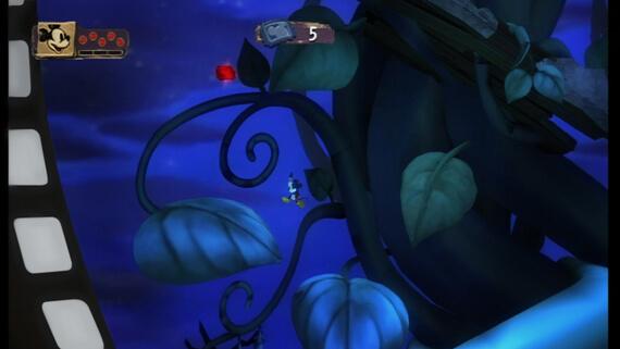 Disney Epic Mickey Beanstalk