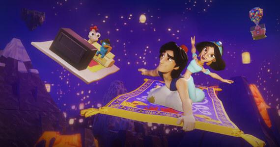 Disney Infinity 2.0 (Aladdin and Jasmine)