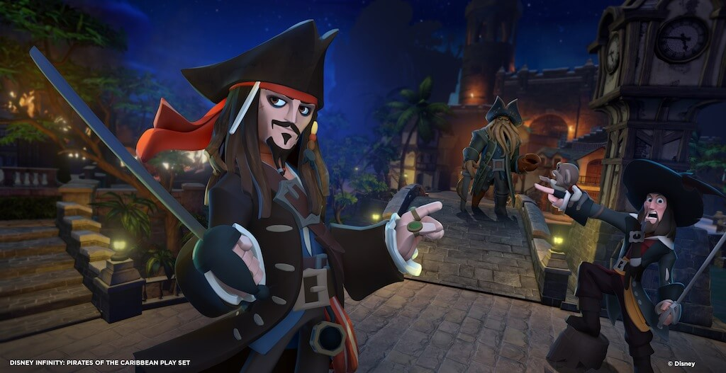 'Disney Infinity' Pirates of the Caribbean Play Set Trailer, Screens, & Details