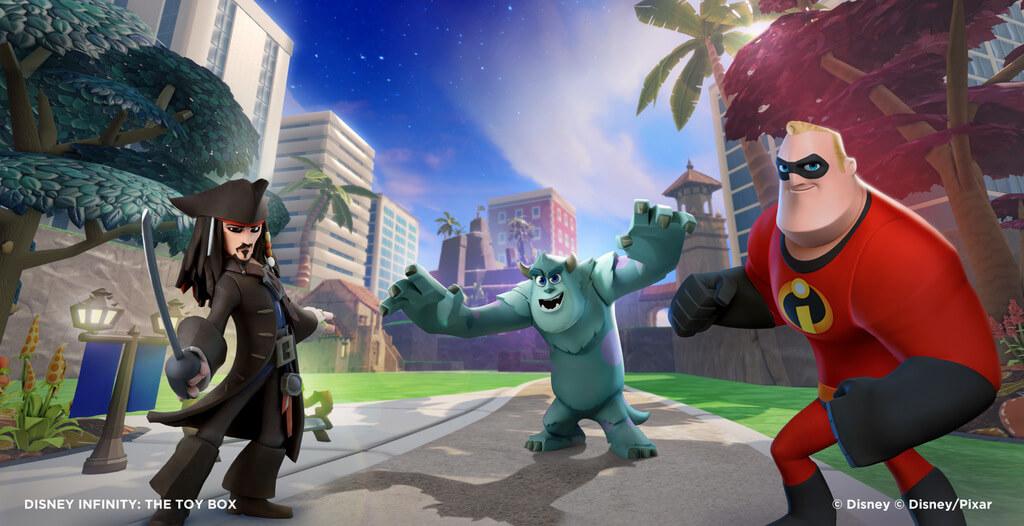 'Disney Infinity' Combines Elements of 'Skylanders,' 'LittleBigPlanet,' and 'Minecraft'