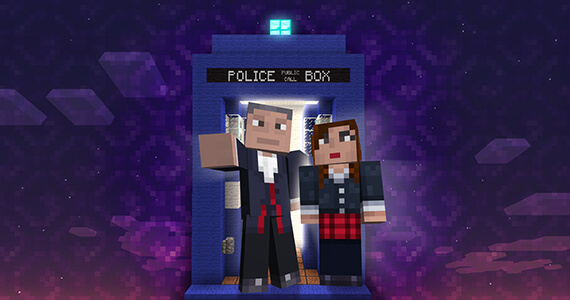 Doctor Who Minecraft DLC