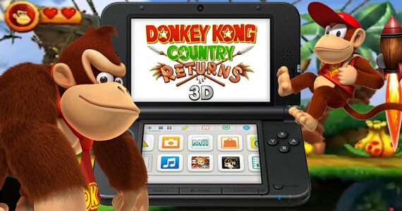 'Donkey Kong Country Returns 3D' Returning to 3DS