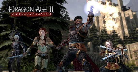 Dragon Age 2 Mark of the Assassin Party of Doom