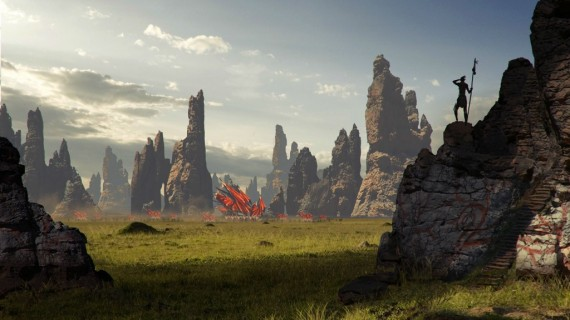 First 'Dragon Age 3' Pre-Production Screenshot Shown as BioWare Talks Frostbite 2