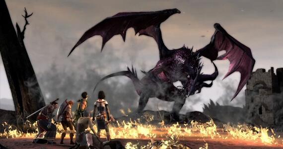 Dragon Age Inquisition Dragon Battle