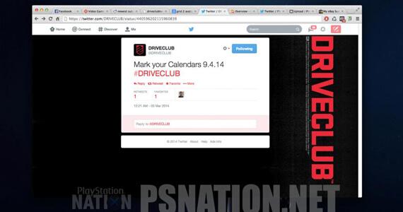 Driveclub Release Leak Tweet