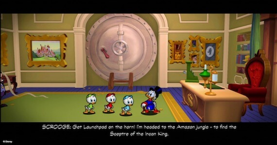 Ducktales Remastered Review - Cutscenes