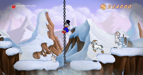 Ducktales Remastered Review - Himalayas Level