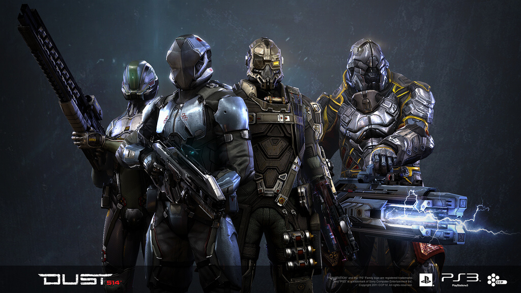 Player & Dropsuit Customization in 'Dust 514′