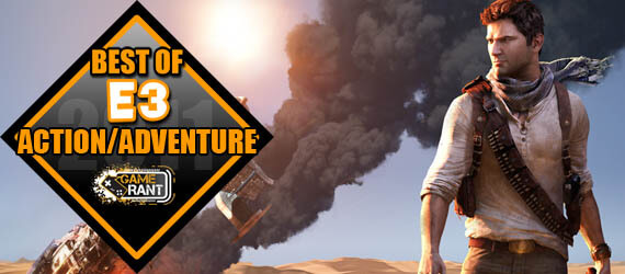 E3 2011 Best Action Adventure Uncharted 3