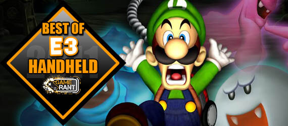 E3 2011 Best Handheld Game Luigi's Mansion 2