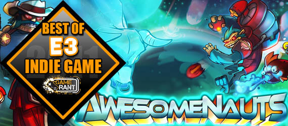 E3 2011 Best Indie Game Awesomenauts