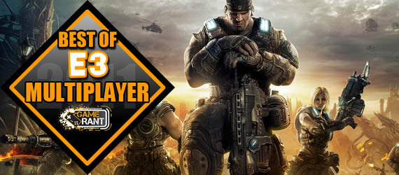 E3 2011 Best Multiplayer Gears of War 3